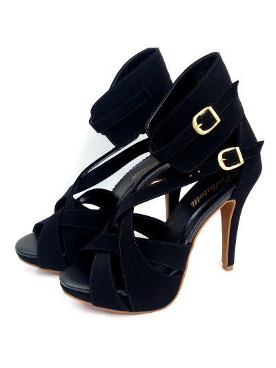 Sandal Collana Nero